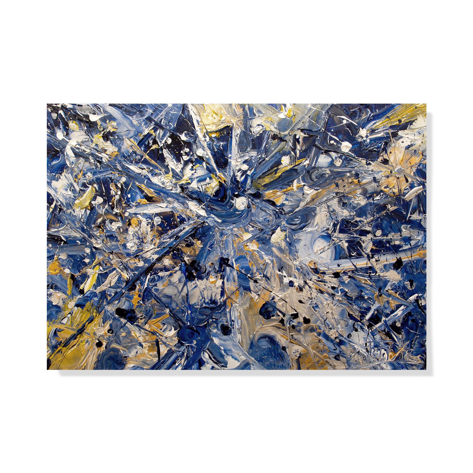 Esplosione-di-Cielo-100-x-70---Acrilico---2013