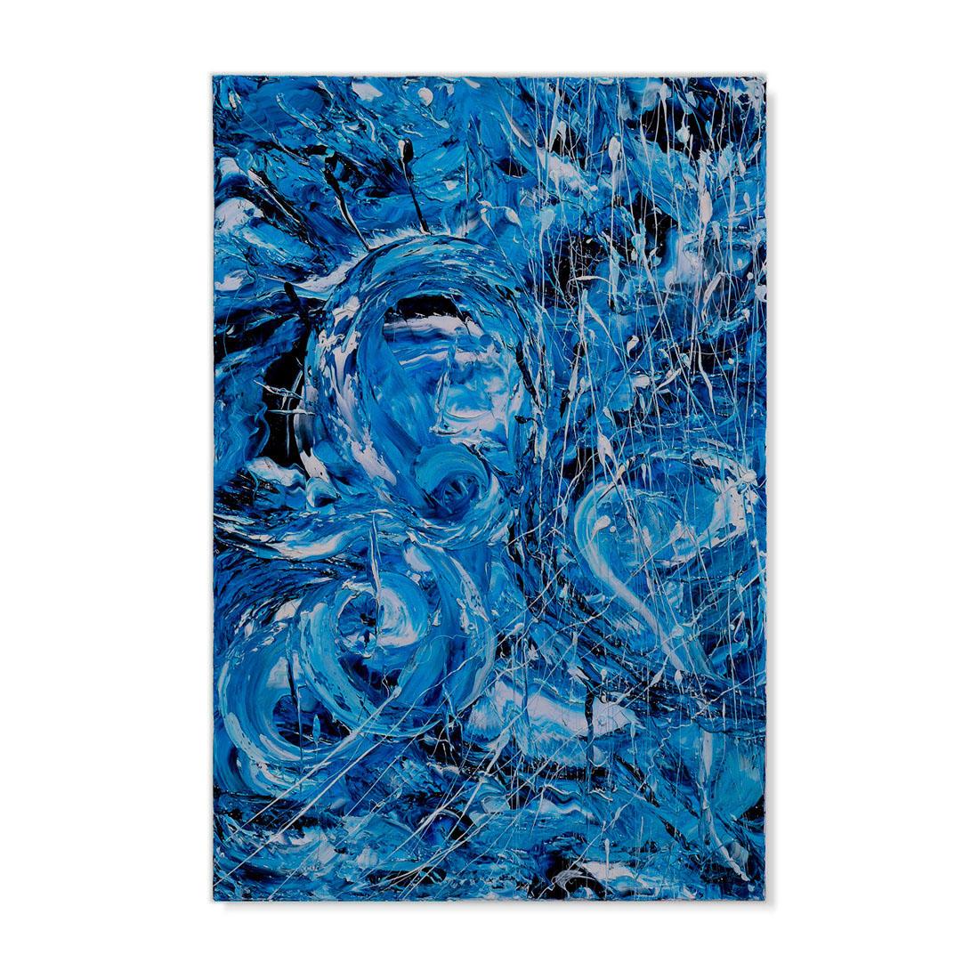 Nell'Inverno del Mare cm 90x60 Olio su tela 2013