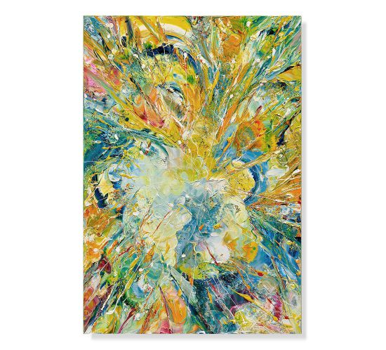 Esplosione-Di-Luce-100x70---Olio-su-tela---2014