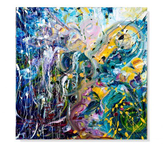 Animo-Prigioniero-70x70-cm---olio-su-tela---2012
