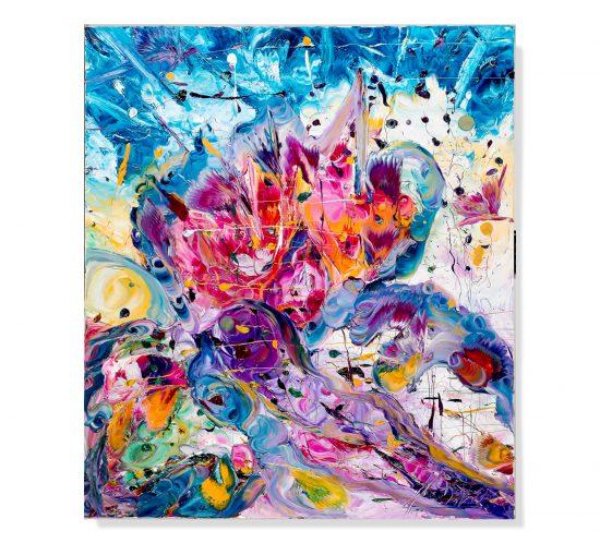 Come-una-Farfalla-70x80-cm---Olio-su-tela---2012