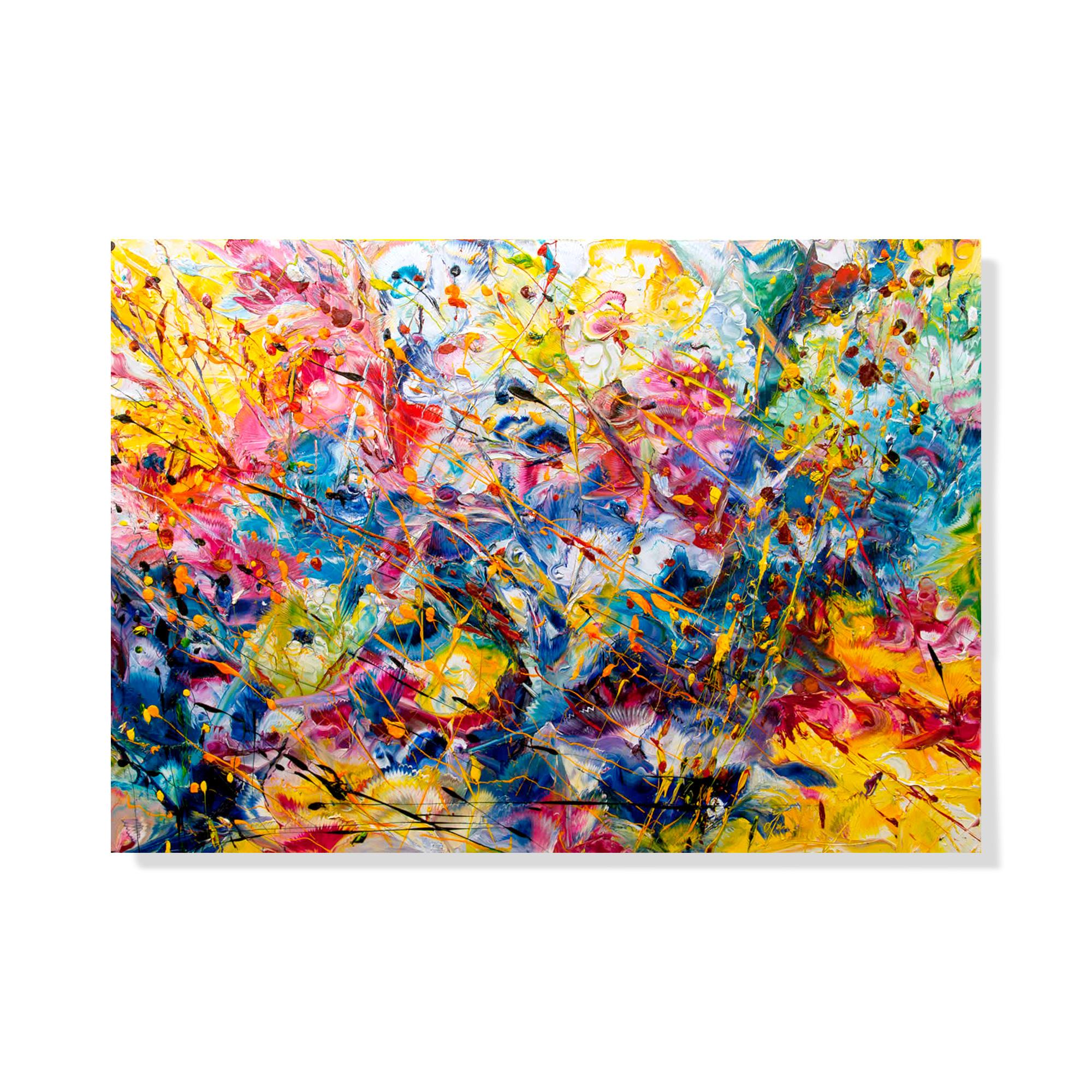 E-Piove-su-di-Noi-100x70---Olio-su-tela---2013