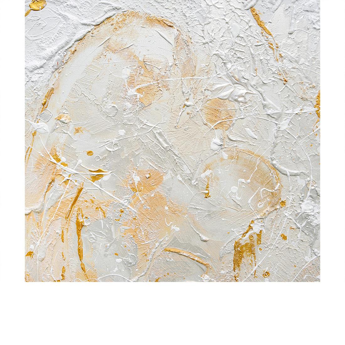 Maternità - Acrilico e Marmo su Tela - 70 x 100 - 2015-D