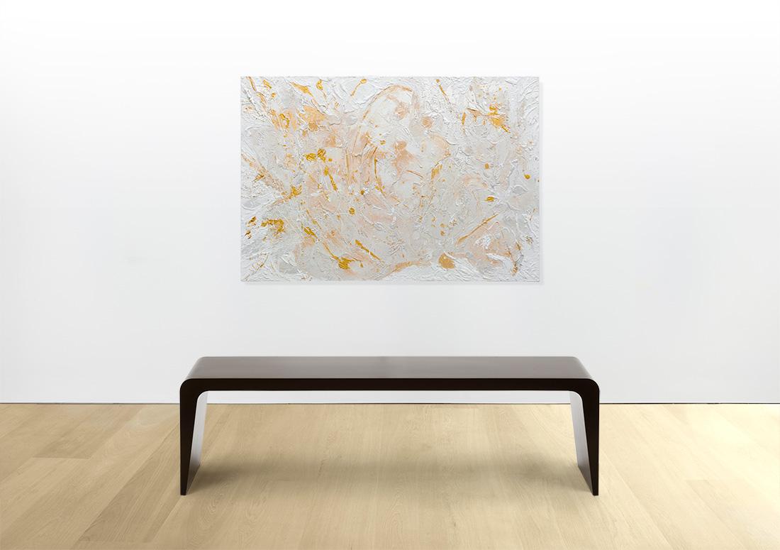 Maternità - Acrilico e Marmo su Tela - 70 x 100 - 2015-E