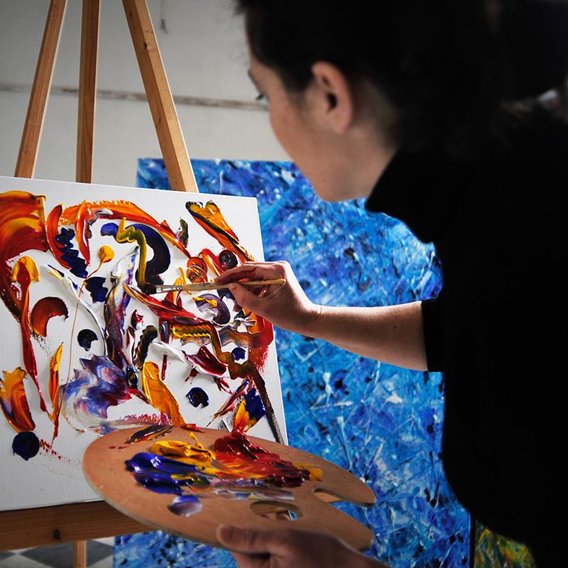 Maria Rita Vita Studio di Pittura - Dipingendo