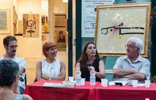 Marina di Pietrasanta Villa La Versiliana Intervento agli incontri Arte e Pensiero