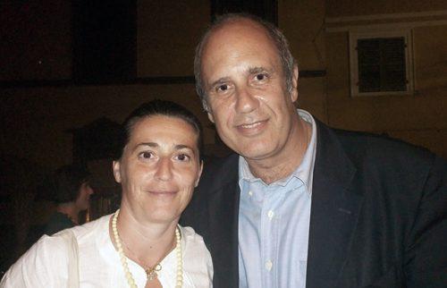Premio Nazionale Bancarella Maria Rita Vita con lo Scrittore Federico Moccia