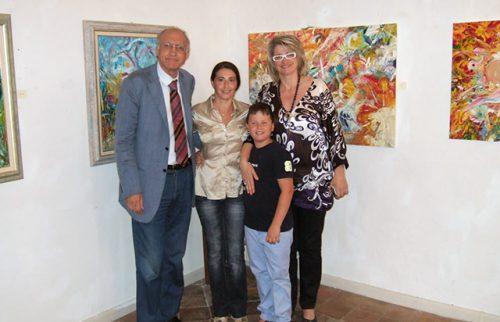 Pontremoli – Salone del 400 con il Prof. Giuseppe Benelli Presidente del Premio Nazionale Bancarella e il Sindaco Lucia Baracchini