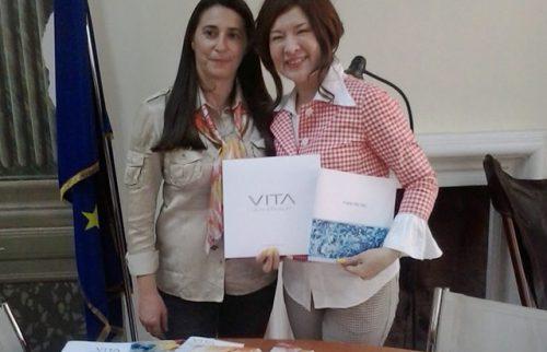 Roma, Maria Rita Vita con Madame Ximan Yu
