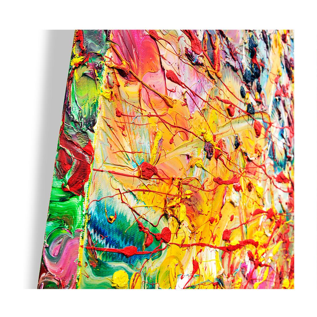 POLLINE E BRUSIO - Olio su Tela - 100 x 70 - 2017-B
