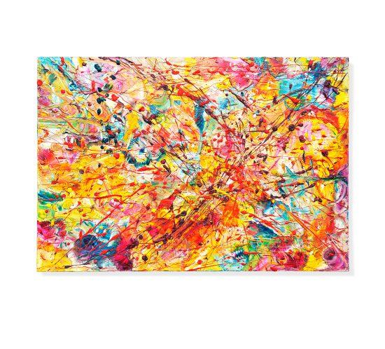 POLLINE E BRUSIO - Olio su Tela - 100 x 70 - 2017 C