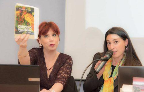 Genova, Novotel, Maria Rita Vita con la Dott.ssa Francesca Buffa